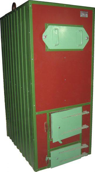 130 квт Водогрейный котел на твердом топливе Тепло - 130 вертикальный